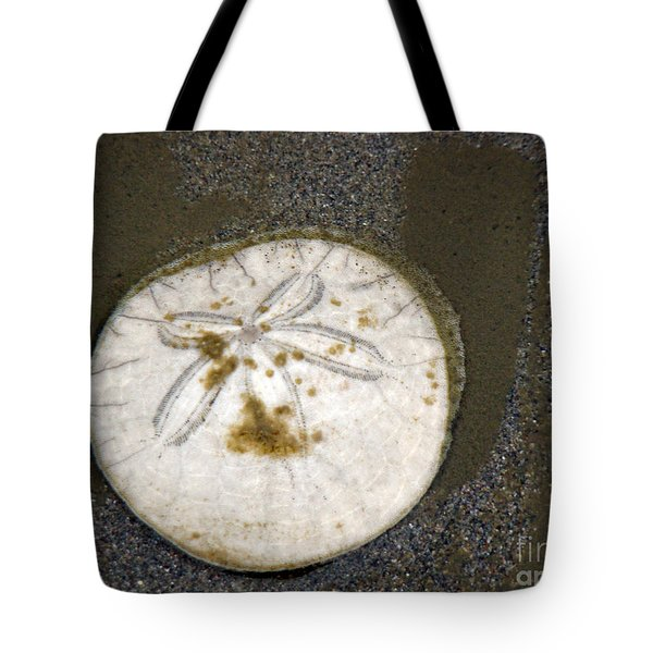 Legend Of The Sand Dollar Tote Bag by Beverly Guilliams