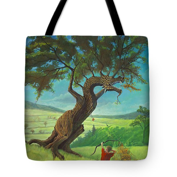 Legendary Archer Tote Bag by Rob Corsetti
