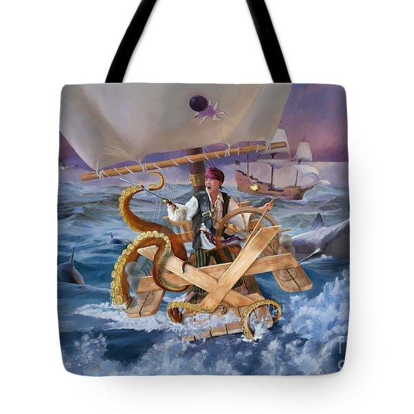 Legendary Pirate Tote Bag