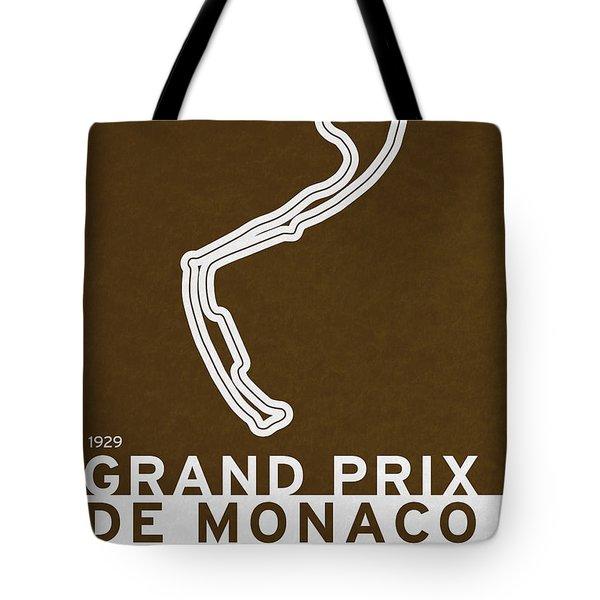 Legendary Races - 1929 Grand Prix De Monaco Tote Bag by Chungkong Art