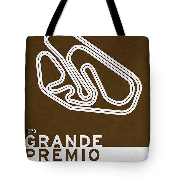 Legendary Races - 1973 Grande Premio Do Brasil Tote Bag by Chungkong Art