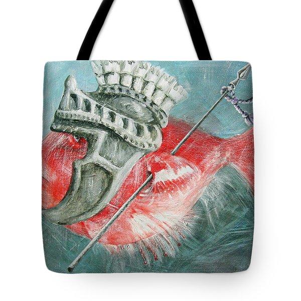 Legionnaire Fish Tote Bag