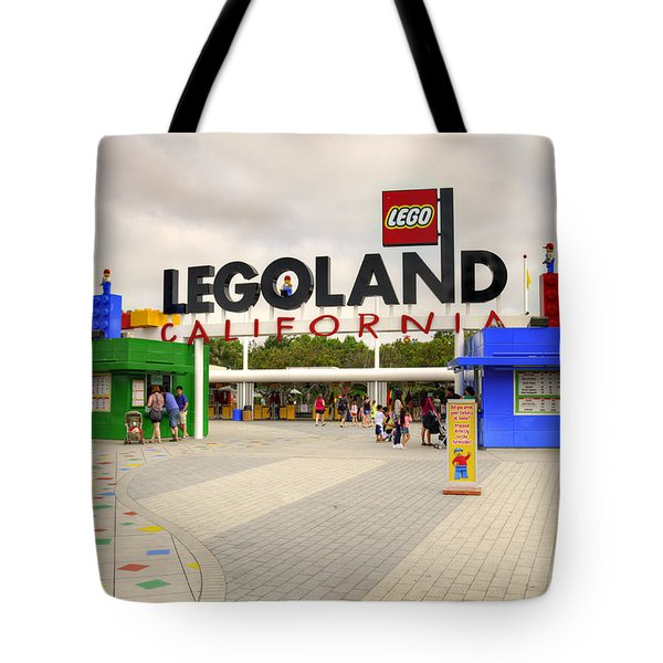 Legoland California Tote Bag