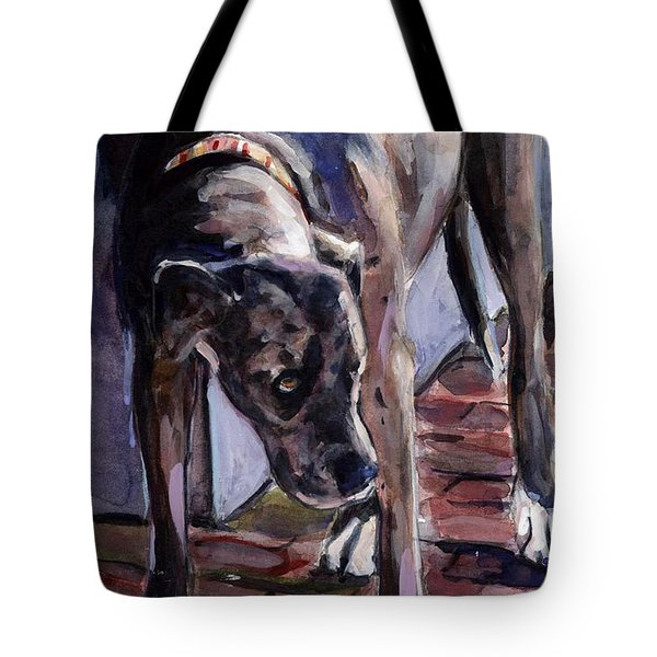 Legs Tote Bag by Molly Poole