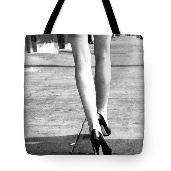 Legs New York Tote Bag