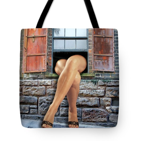 Legs Tote Bag by Nina Bradica