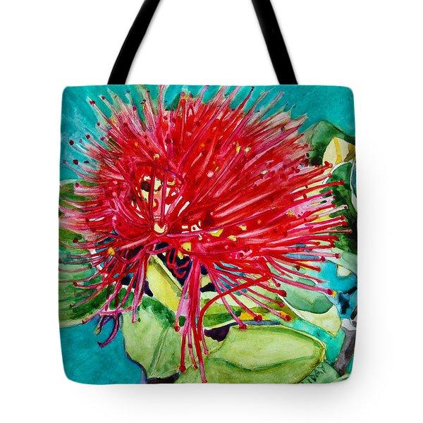 Lehua Blossom Tote Bag