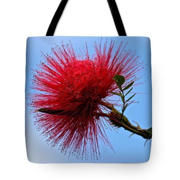 Lehua Blossom Tote Bag by Venetia Featherstone-Witty