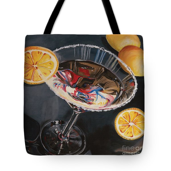 Lemon Drop Tote Bag