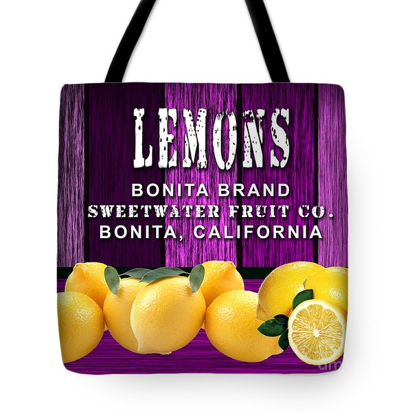 Lemon Farm Tote Bag