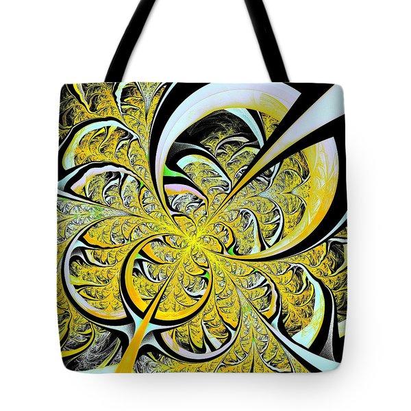 Lemon Twist Tote Bag by Anastasiya Malakhova