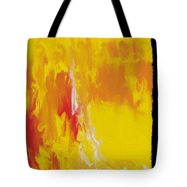 Lemon Yellow Sun Tote Bag