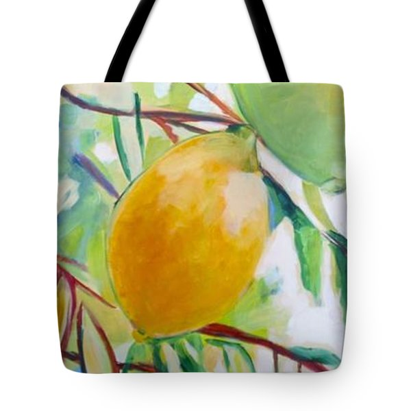Lemons And Lime Tote Bag