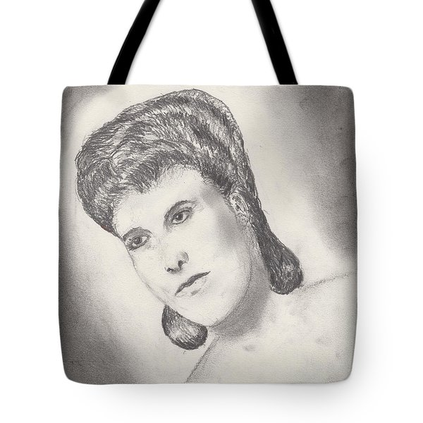 Lena Horne Tote Bag by David Jackson