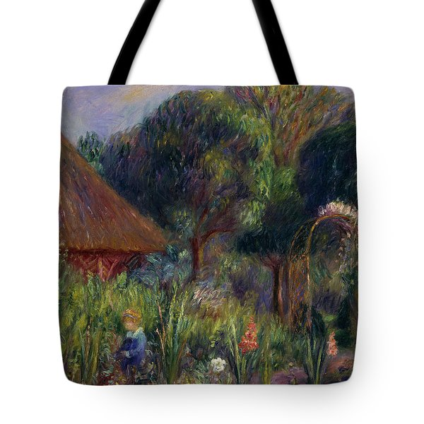 Lenna By A Summer House Tote Bag by William James Glackens