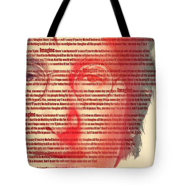 Lennon  Tote Bag by Mark Ashkenazi