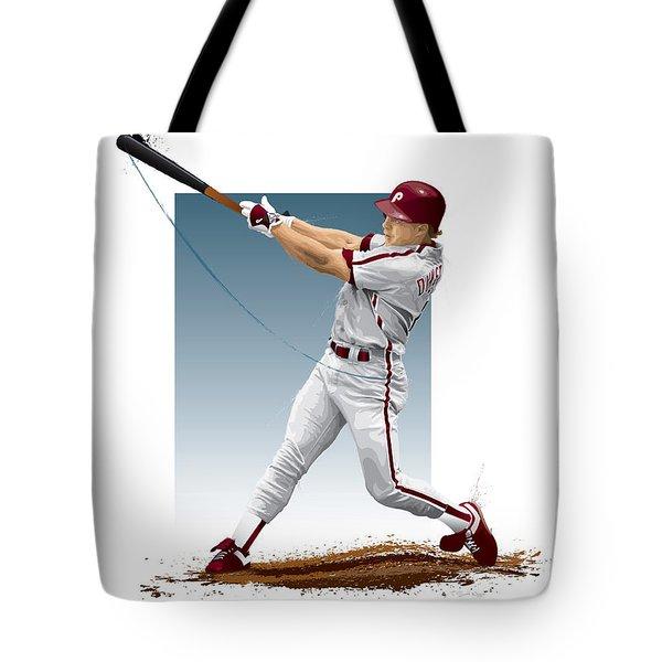 Lenny Dykstra Tote Bag by Scott Weigner