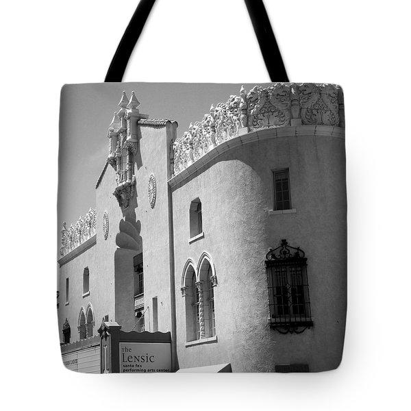 Lensic Bw Tote Bag