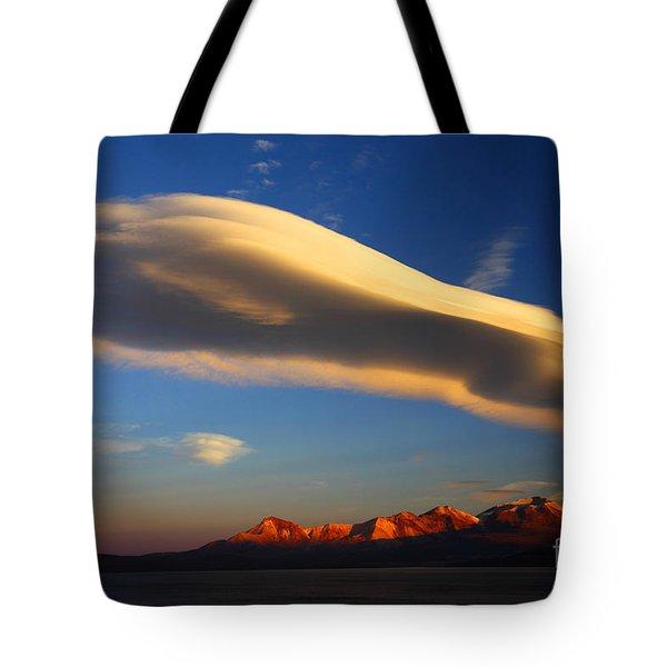 Lenticular Magic Tote Bag by James Brunker