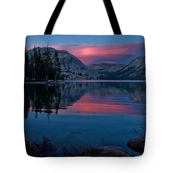 Lenticular Sunset At Tenaya Tote Bag