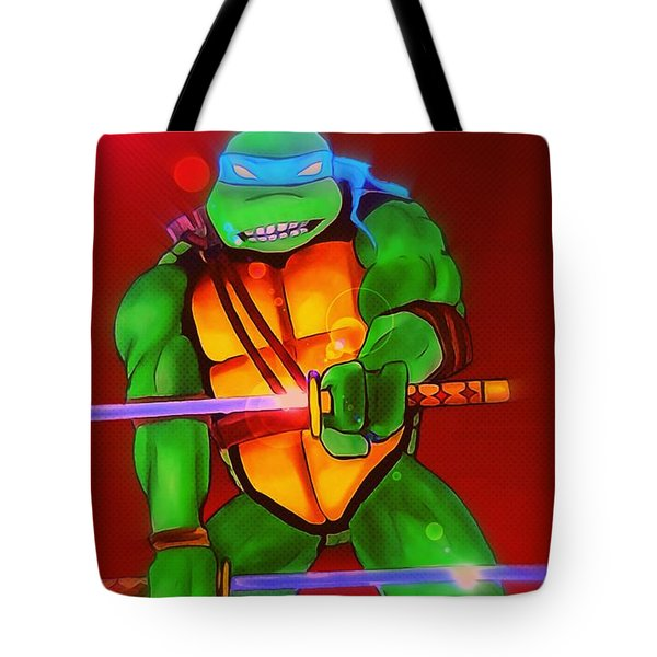 Leo Slash Focus Tote Bag