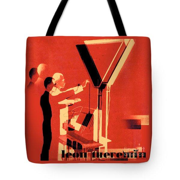 Leon Theremin Tote Bag