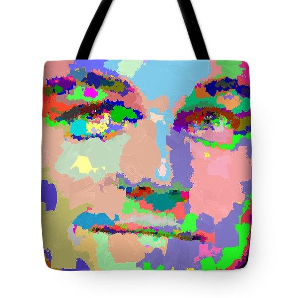 Leonardo Dicaprio - Abstract 01 Tote Bag