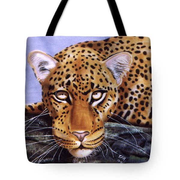 Leopard In A Tree Tote Bag