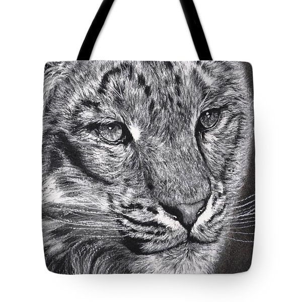 Adams Leopard - Pastel Tote Bag