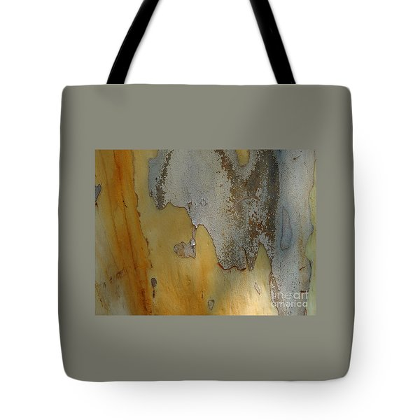 Leopard Tree Bark Abstract No.3 Tote Bag by Denise Clark