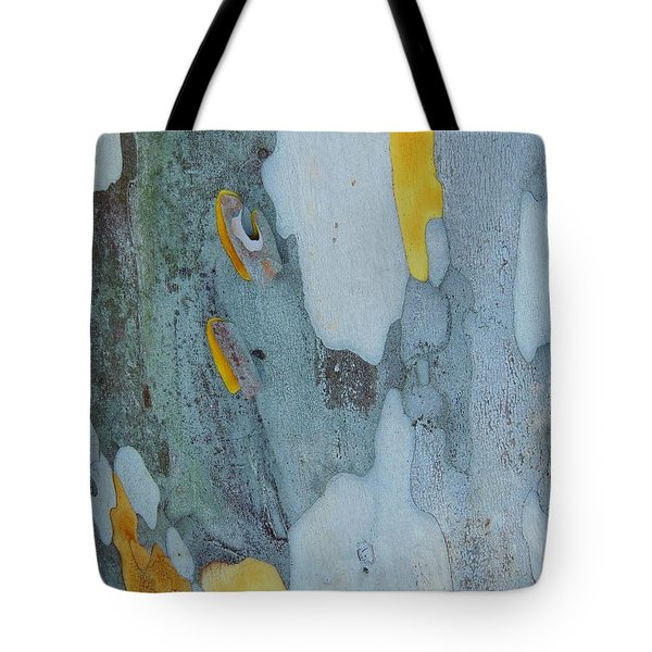 Leopard Tree Bark Abstract No 1 Tote Bag