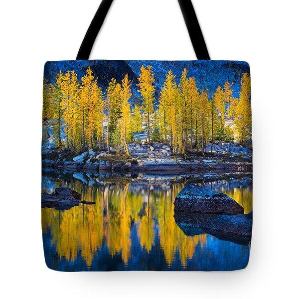Leprechaun Tamaracks Tote Bag by Inge Johnsson