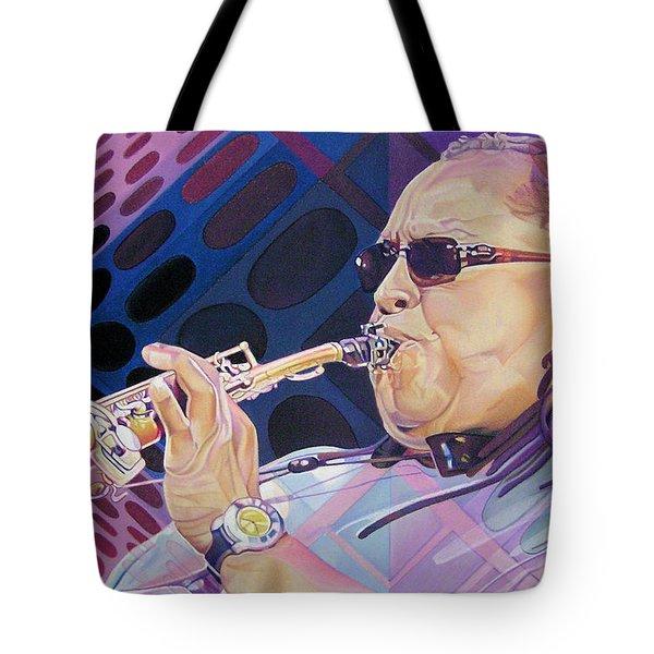 Leroi Moore Tote Bag by Joshua Morton
