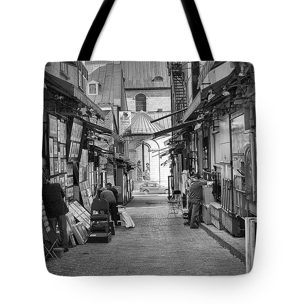 Les Artistes Tote Bag by Eunice Gibb