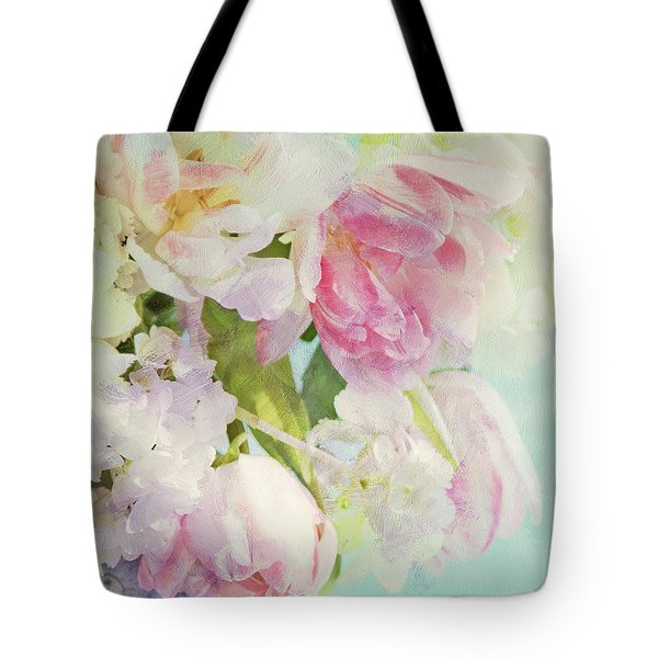 Les Fleurs Tote Bag by Theresa Tahara