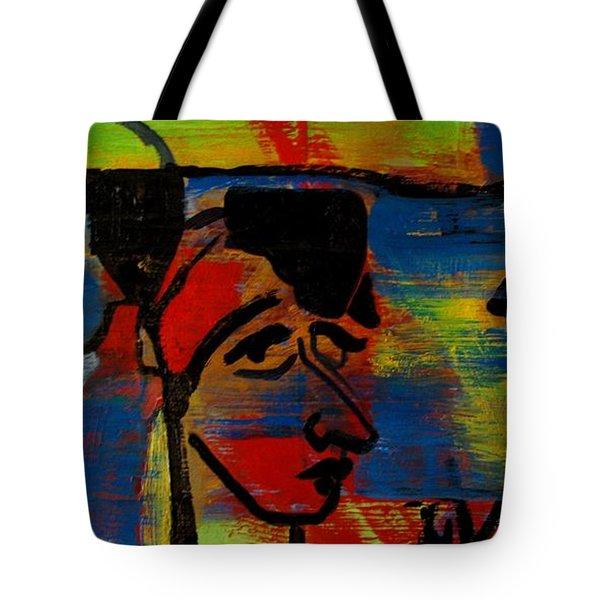 Les Gens A La Lac Two Tote Bag by Grace Liberator