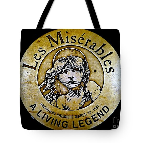 Les Miserables Tote Bag by Ed Weidman
