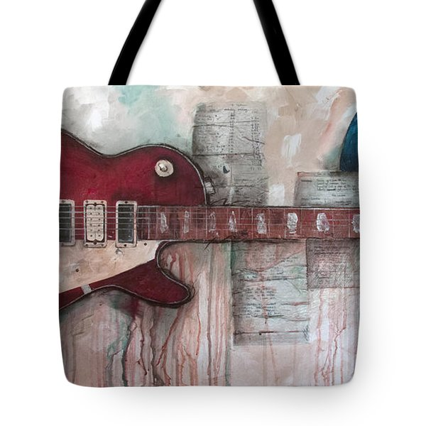Les Paul Number 5 Tote Bag