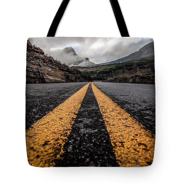 Less Traveled Tote Bag