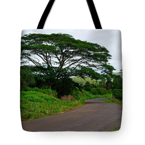 Less Traveled Road Tote Bag