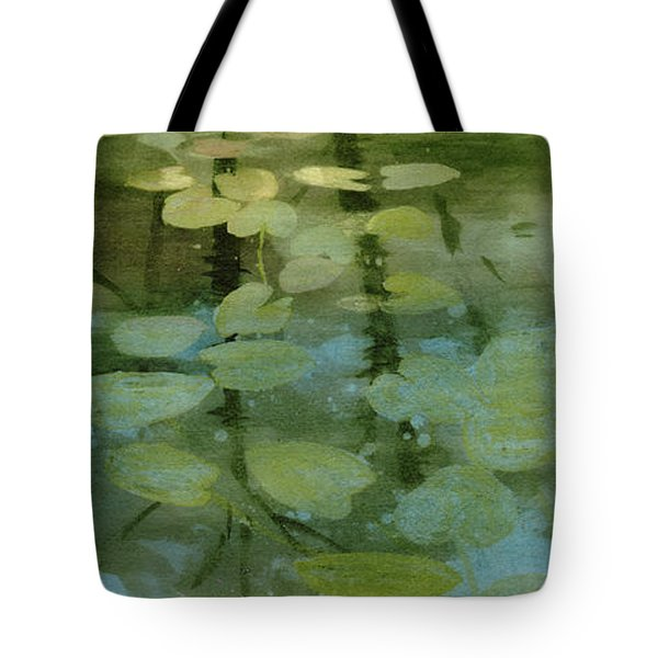 Lessons Of The Lake Tote Bag by Kris Parins