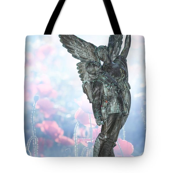 Lest We Forget Tote Bag by Lisa Knechtel