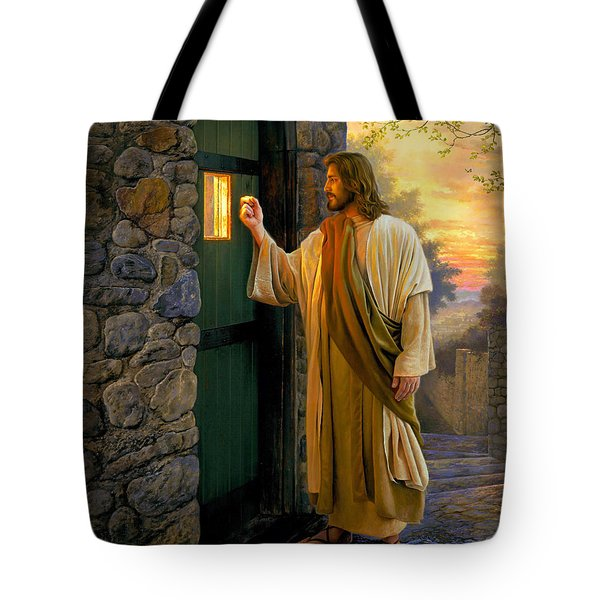Let Him In Tote Bag