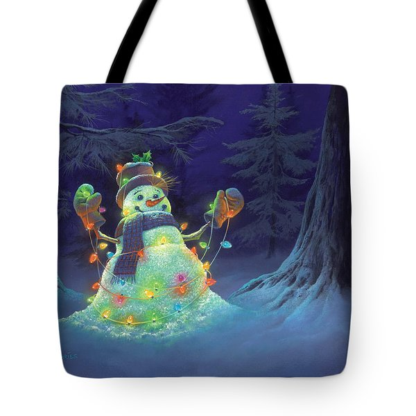 Let It Glow Tote Bag by Michael Humphries