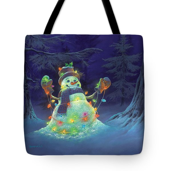 Let It Glow Tote Bag