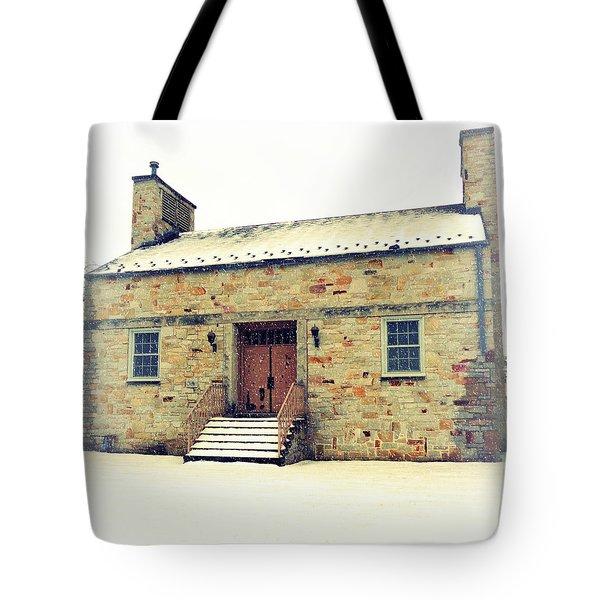 Let It Snow Tote Bag by Joseph Skompski