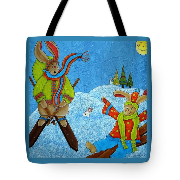 Let It Snow Tote Bag by Tracy Campbell