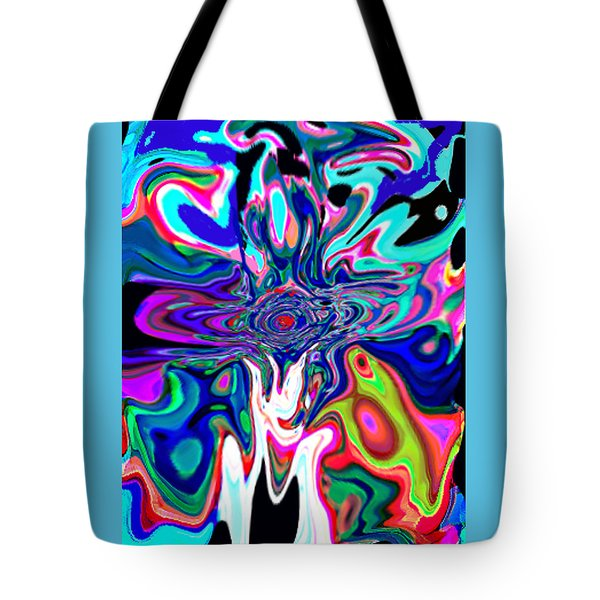 Jesus Talks Cross Original Contemporary Modern Abstract Expressionism Art Painting.  Tote Bag by RjFxx at beautifullart com