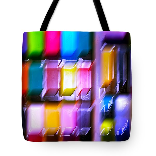 Let Play Happen Tote Bag by Gwyn Newcombe