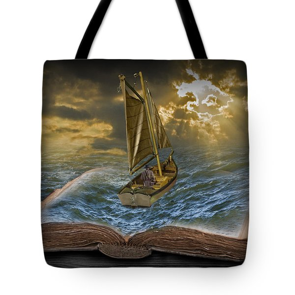 Let The Adventure Begin Tote Bag by Randall Nyhof